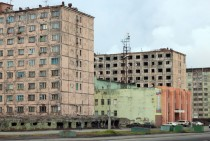 Apartment Buildings in Norilsk Russia