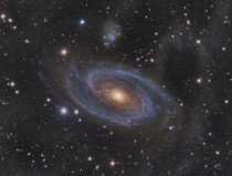 APOD  April  - Grand Spiral Galaxy M and Arps Loop