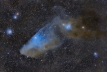 APOD  April  - IC  The Blue Horsehead Reflection Nebula