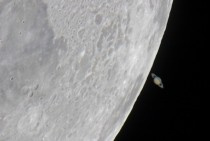 APOD  April  - The Moons Saturn