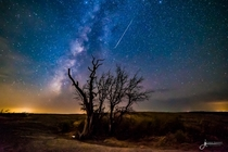 APOD - Comet Dust over Enchanted Rock Photographer - Jared Tennant