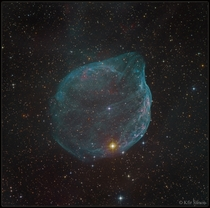 APOD  June  - Sharpless  Star Bubble