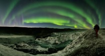 APOD  March  - Waterfalls Auroras Comet Iceland
