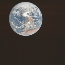 Apollo  Blue Marble original image - the iconic photo was flipped upside down