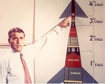 Apollo designer Wernher von Braun presents a rocket capable of reaching Mars xpost rWhereIsMyFlyingCar