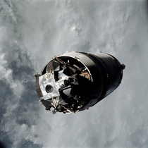 Apollo s Lunar Module Spider Attached to S-IVB