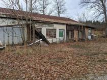 Appalachia is a treasure trove of abandonment Old storefront in eastern Tennessee
