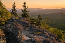 Appalachian Sunset from Grandmother Mountain NC