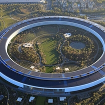 Apple headquarters  Cupertino California x
