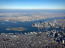 Approaching LaGuardia Airport yesterday morning NYC