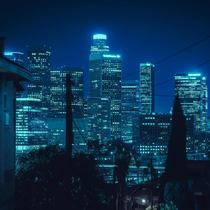 Aqua Nights in Downtown Los Angeles