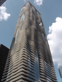 Aqua skyscraper Chicago  x-post from rpics