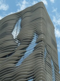 Aqua Tower Chicago Illinois Architect Jeanne Gang