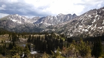 Arapahoe Pass Rocky Mtn Nat Park June  Spontaneous pic with my Droid RAZR Id say it came out pretty good
