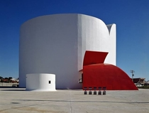 Araras State Theater designed by Oscar Niemeyer Araras So Paulo Brazil