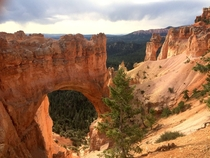 Arch Near Bryce Canyon in the Summer Utah