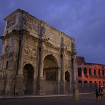 Arch Of Constantine amp Colosseum Rome