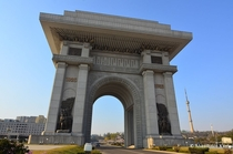 Arch of Triumph Pyongyang North Korea bigger than the one in Paris