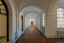Arched Hallway in a Beautiful Vacant old Institution OC x