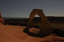 Arches National Park and night a collaborative effort between myself and my father