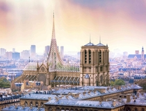 Architect unveils striking proposal for green Notre Dame