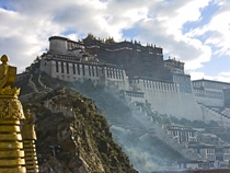 Architecturally imposing -- Potala Palace in Tibet