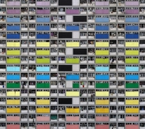 Architecture of Density shot of Hong Kong by Michael Wolf  Link in comments