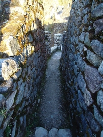Architecture of Sayacmarca the Abandoned Inaccessible Town Inca Trail Peru