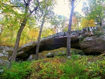 Arkansas Version Of A Natural Bridge
