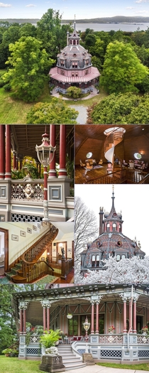 Armour-Stiner Octagon House Built in  by financier Paul Armour Altered and embellished in  by importer Joseph Stiner