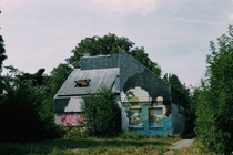 Around  years ago me and my dad went to Doel Belgium This village has been abandoned for over  years now  people used to live there now these houses are just art displays