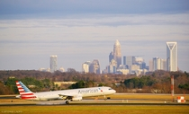 Arriving into Charlotte North Carolina