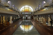 Art dco swimming pool turned into an art museum in Roubaix France