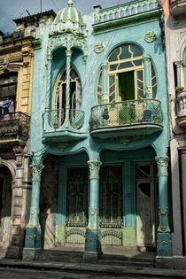Art Nouveau House built in s in Havana Cuba