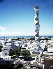 Art Tower Mito by Arata Isozaki