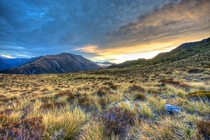 Arthurs Pass National Park - Canterbury New Zealand