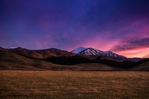 Arthurs Pass South Island of NZ at sunrise  - More in Comments