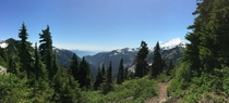 Artist Point is the highest point you can drive to in the North Cascade Mtns Its definitely worth it