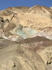 Artists Palette Death Valley National Park x