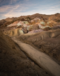 Artists Palette of Death Valley National Park