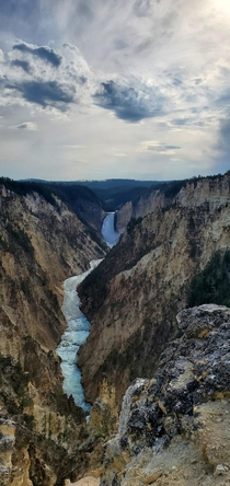 Artists Point Yellowstone National Park Wyoming USA OC x