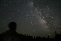 As a lifelong city dweller Ive always dreamed of seeing the Milky Way with my own eyes Finally got to do that last night Crater Lake OR