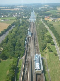 As were in a boat lift mood heres the inclined plane of Ronquieres Belgium