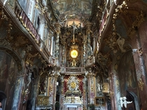 Asam Church St Johann Nepomuk  Munich Germany