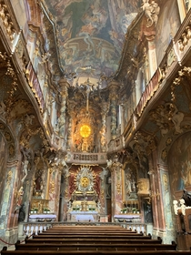 Asamkirche Munich Built by sculptor Egid Quirin Asam and painter Cosmas Damian Asam completed in