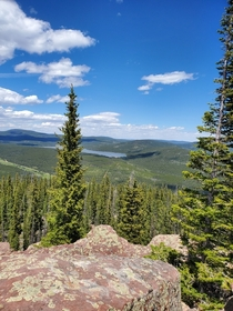 Ashley National Forest Uinta Mountain Range Northeastern Utah USA