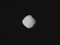 Asteroid Bennu composite imaged by Osiris-Rex on approach