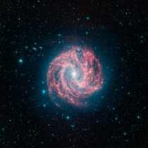 Astronomers old friend - the spiral galaxy or the Southern Pinwheel