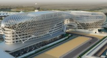 Asymptote Architectures stunning Yas Marina Hotel