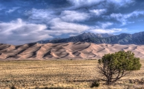 At Great Sand Dunes National Park and Preserve